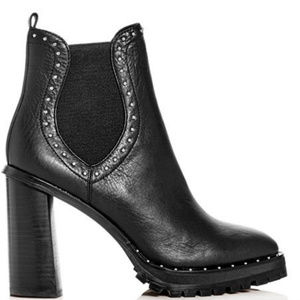 Rebecca Minkoff Edolie Studded High-Heel Boots